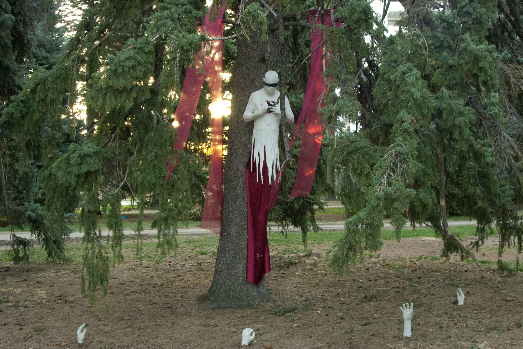 The Spectre in Cheeseman Park, Denver. Image courtesy of The Impossible Winterbourne.