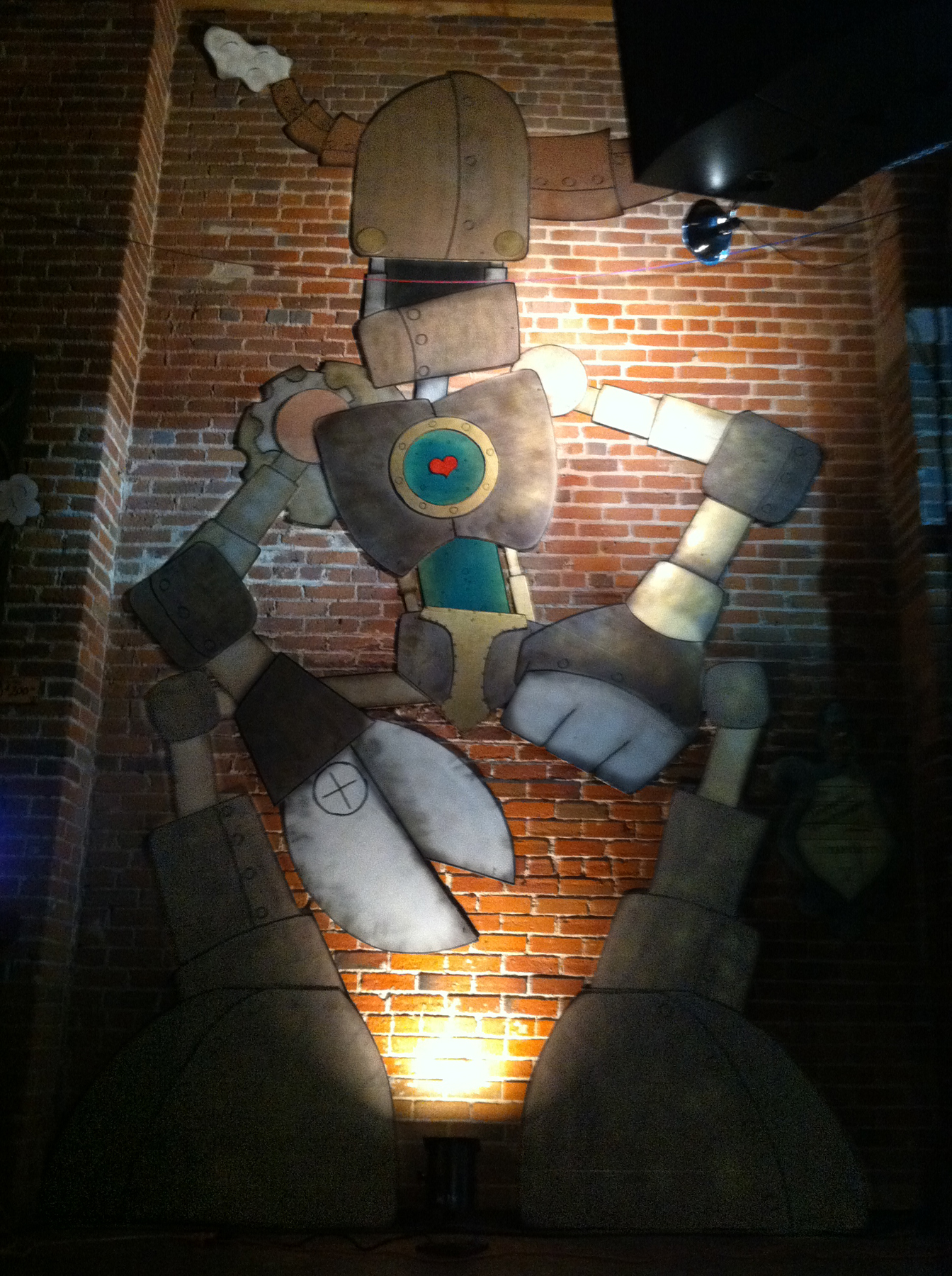 ColossalBot featured at Denver's Artopia in 2012. Image courtesy of The Impossible Winterbourne.