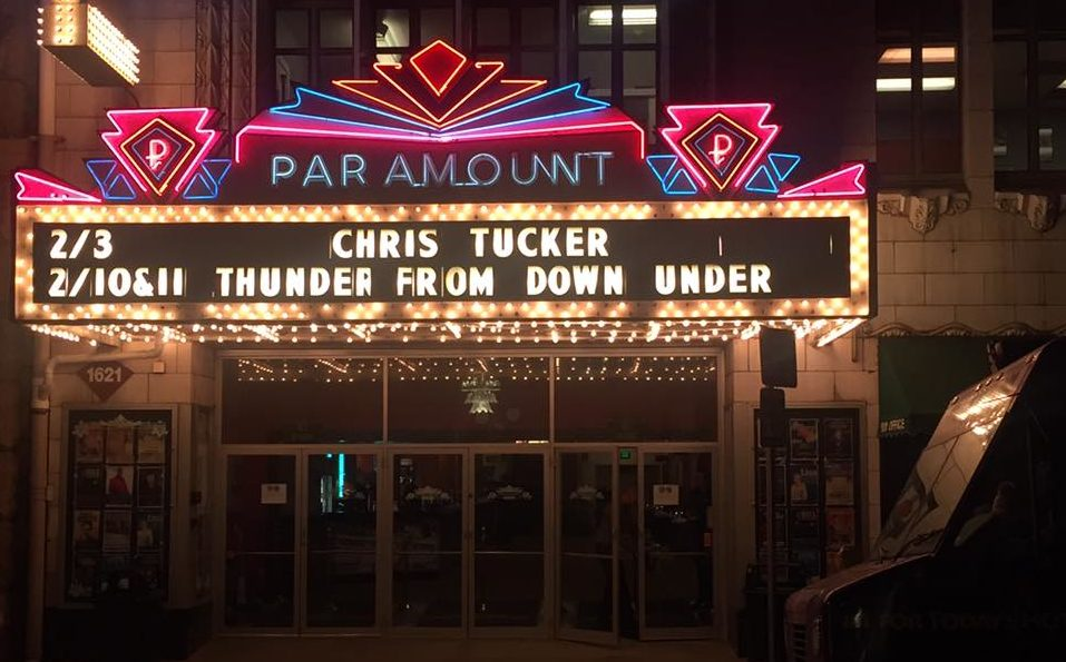 Chris Tucker, 303 Magazine, Tyler Harvey, Denver, Paramount Theater