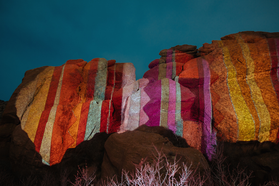 Ryan Good, Cori Anderson, 303 Magazine, Knomad Colab, Red Rocks, Knomad Colab Red Rocks