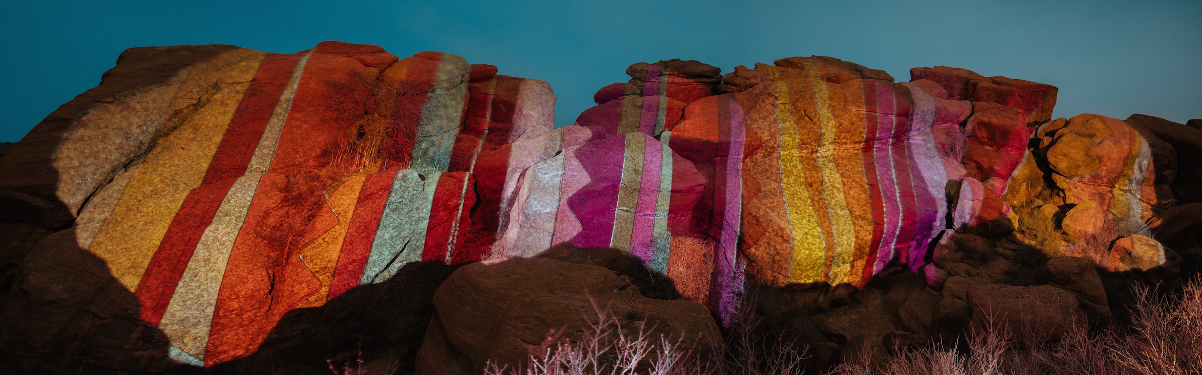 Ryan Good, Cori Anderson, 303 Magazine, Digital Graffiti, Knomad Colab Red rocks, Red Rocks