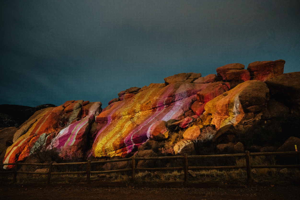 Ryan Good, Cori Anderson, 303 Magazine, Knomad Colab, Red Rocks, Digital Light Graffiti, Knomad Colab Red Rocks