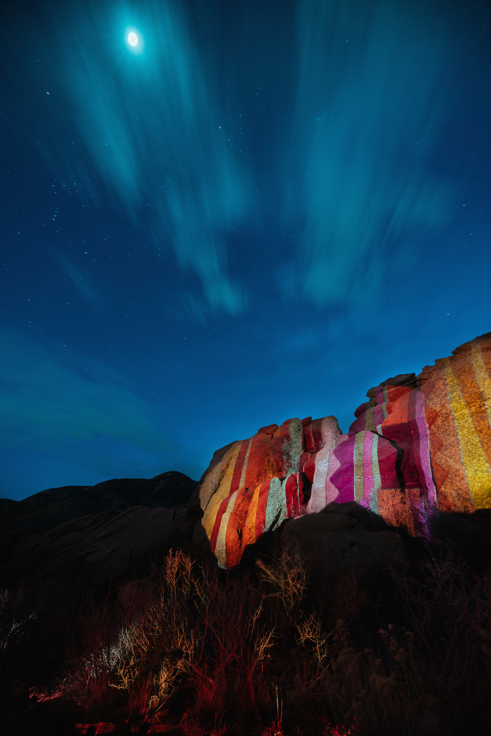 Ryan Good, Cori Anderson, 303 Magazine, Knomad Colab, Red Rocks, Digital Graffiti