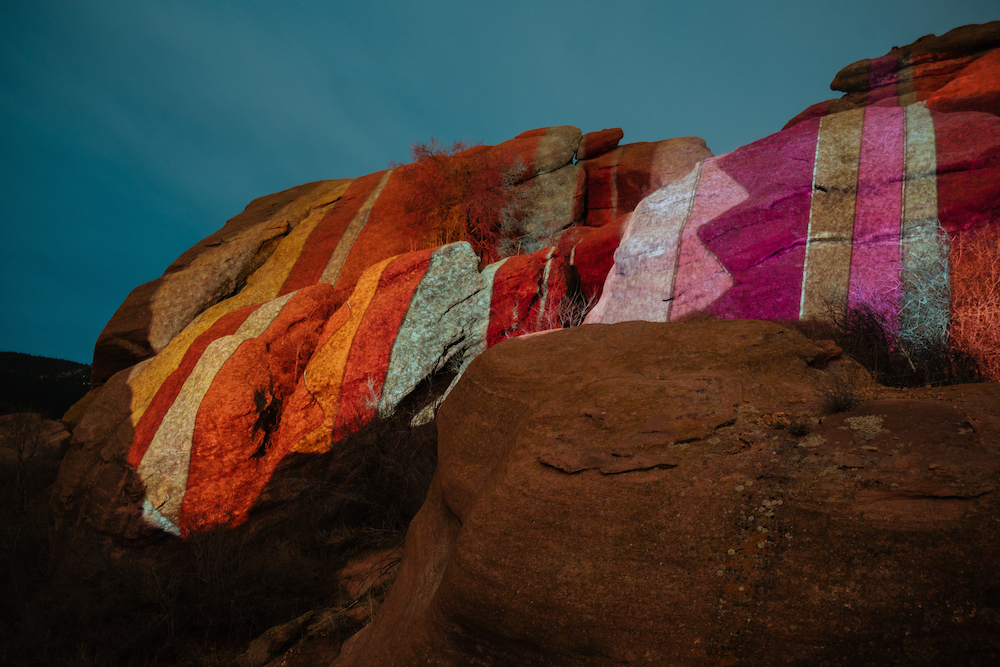 Ryan Good, Cori Anderson, 303 Magazine, Knomad Colab, Red Rocks, Digital Light Graffiti