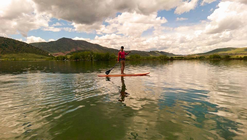 Bear Creek Lake Park, SUP Denver, SUP Lakewood, Stand-up paddleboard, 303 magazine