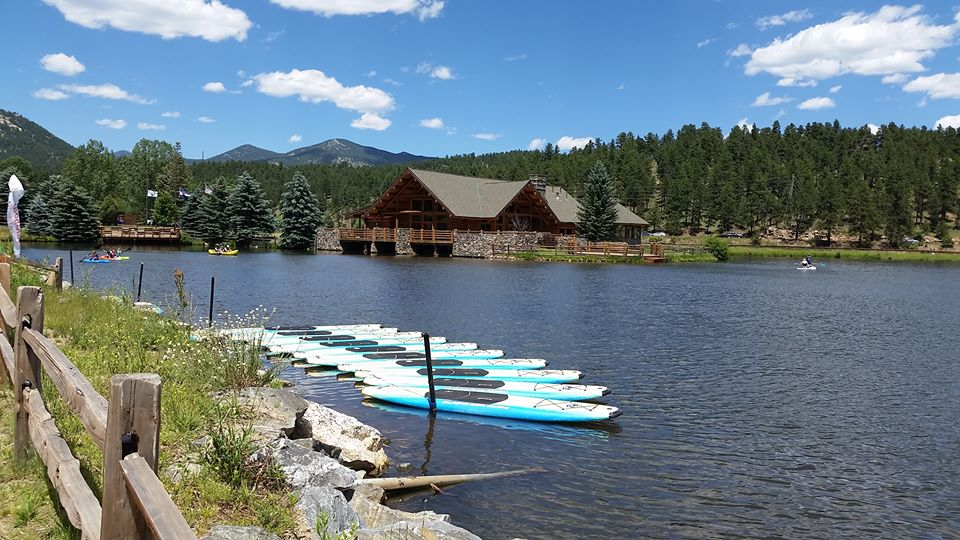 SUP Denver, Evergreen Lake, 303 Magazine, Stand-up paddleboard, SUP Colorado