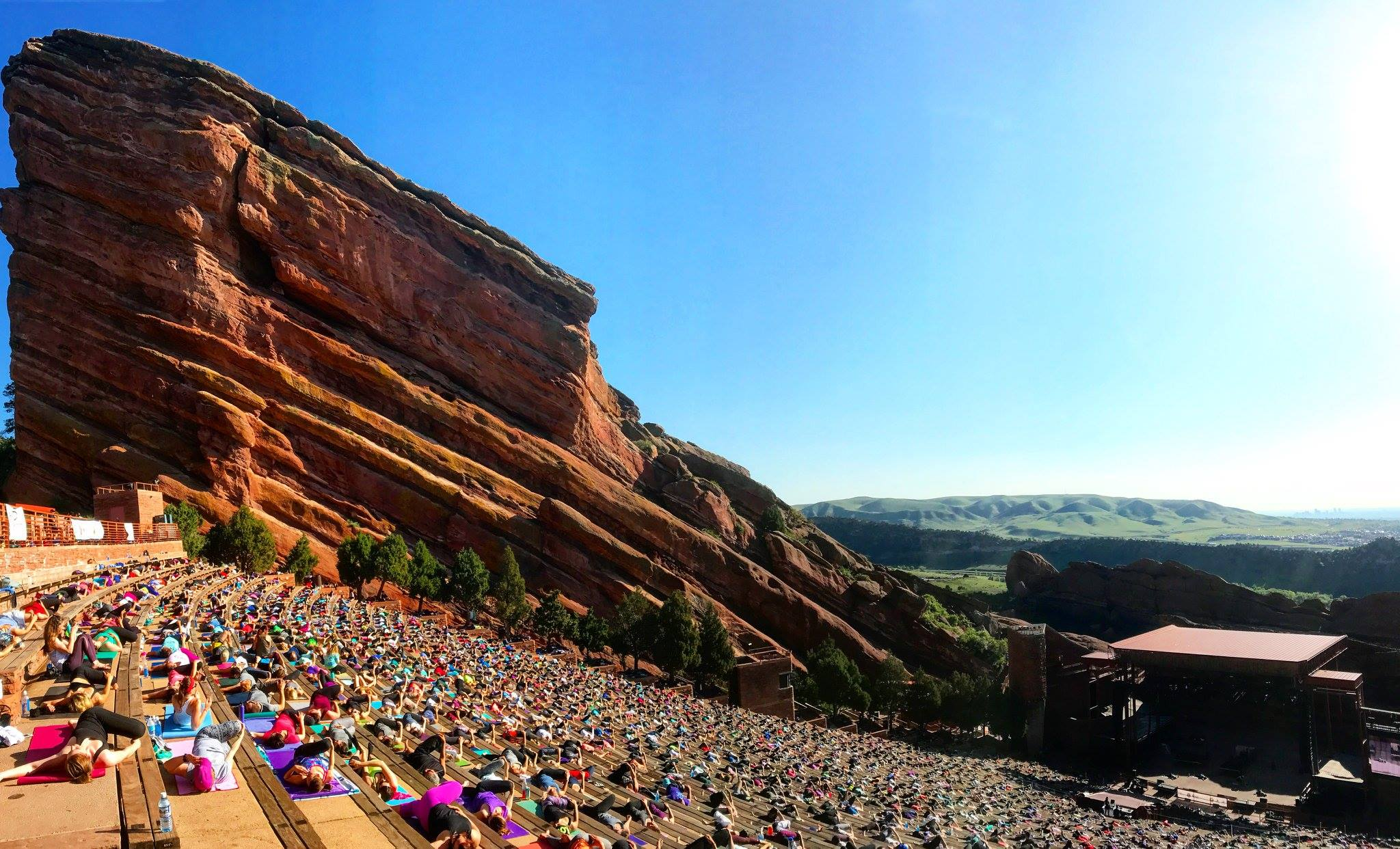 A Barre Version Of Yoga On The Rocks Is Coming To Red Rocks This July 303 Magazine
