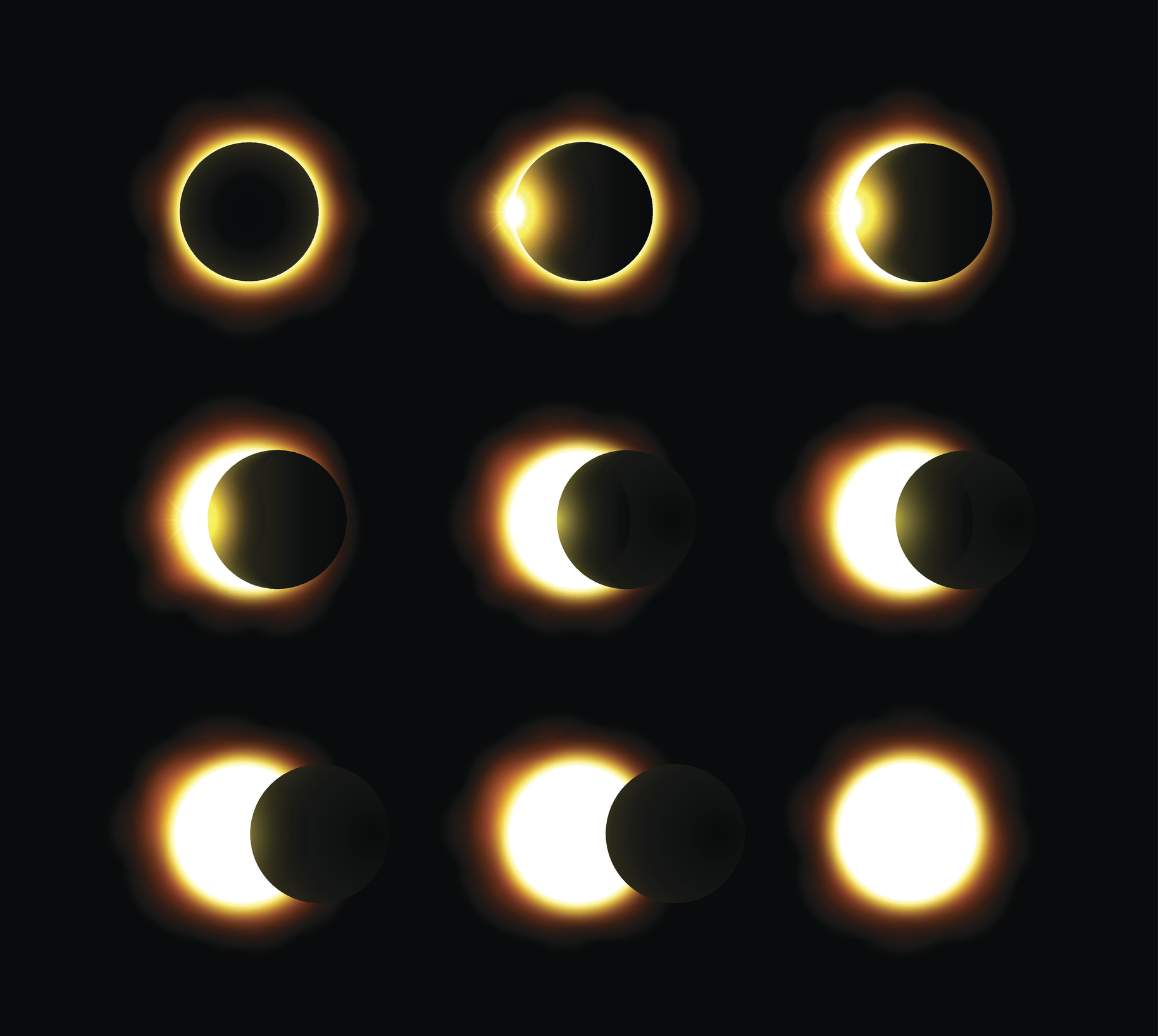 Solar Eclipse Pattern Awesome Ideas
