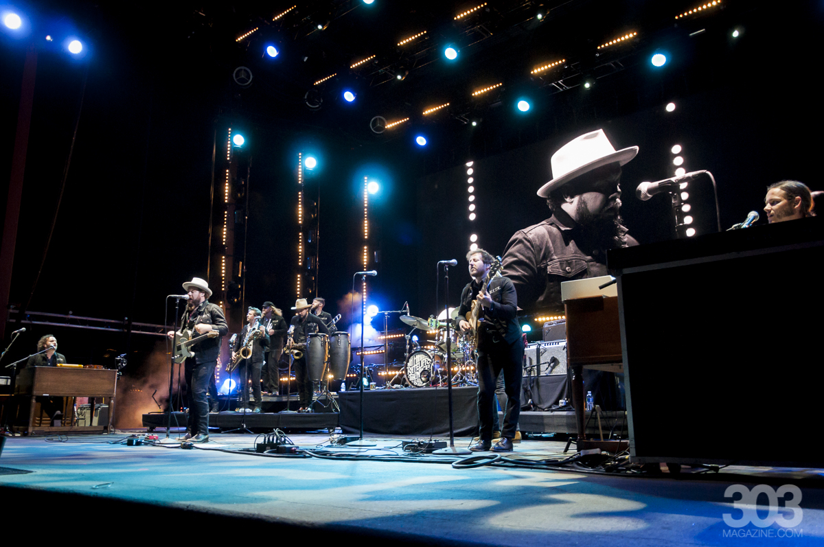 Candace Peterson, Nathaniel Rateliff & The Night Sweats, Red Rocks