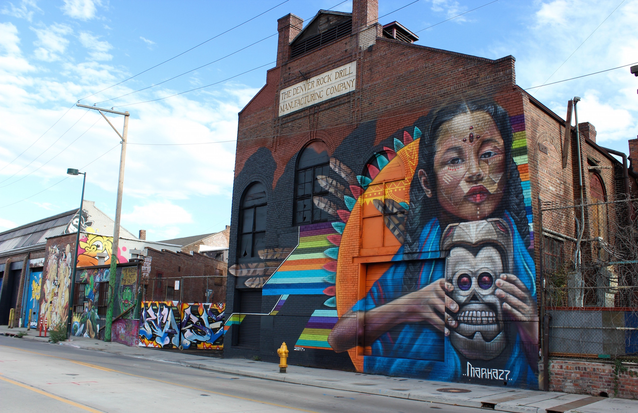 Marka27, Cori Anderson, 303 Magazine, Crush 2017, street art denver