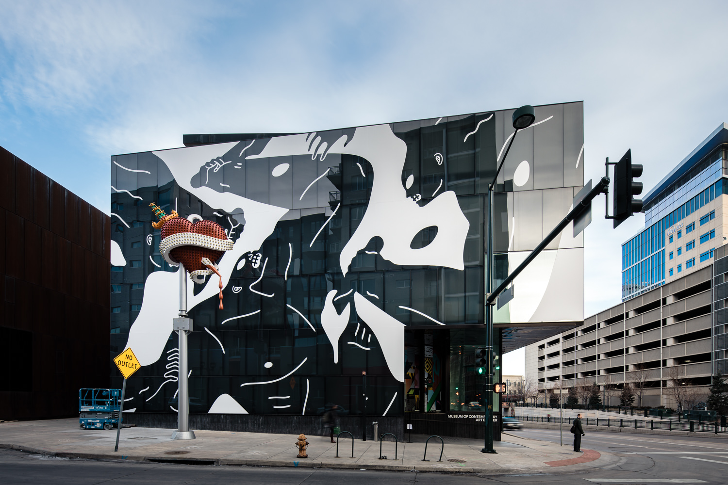 JC Buck, Cleon Peterson, 303 Magazine, MCA Denver, Museum of Contemporary Art Denver