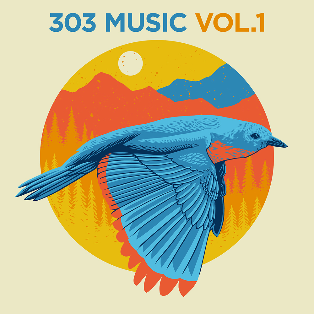 303 Music, 303 Magazine, Denver Music, GRiZ, John Vogl, 303 Music Vol 1