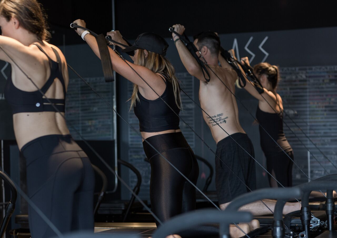 Pilates, Fierce45, fitness, Ashley Adams, 303 Magazine, pilates on steroids, we tried it
