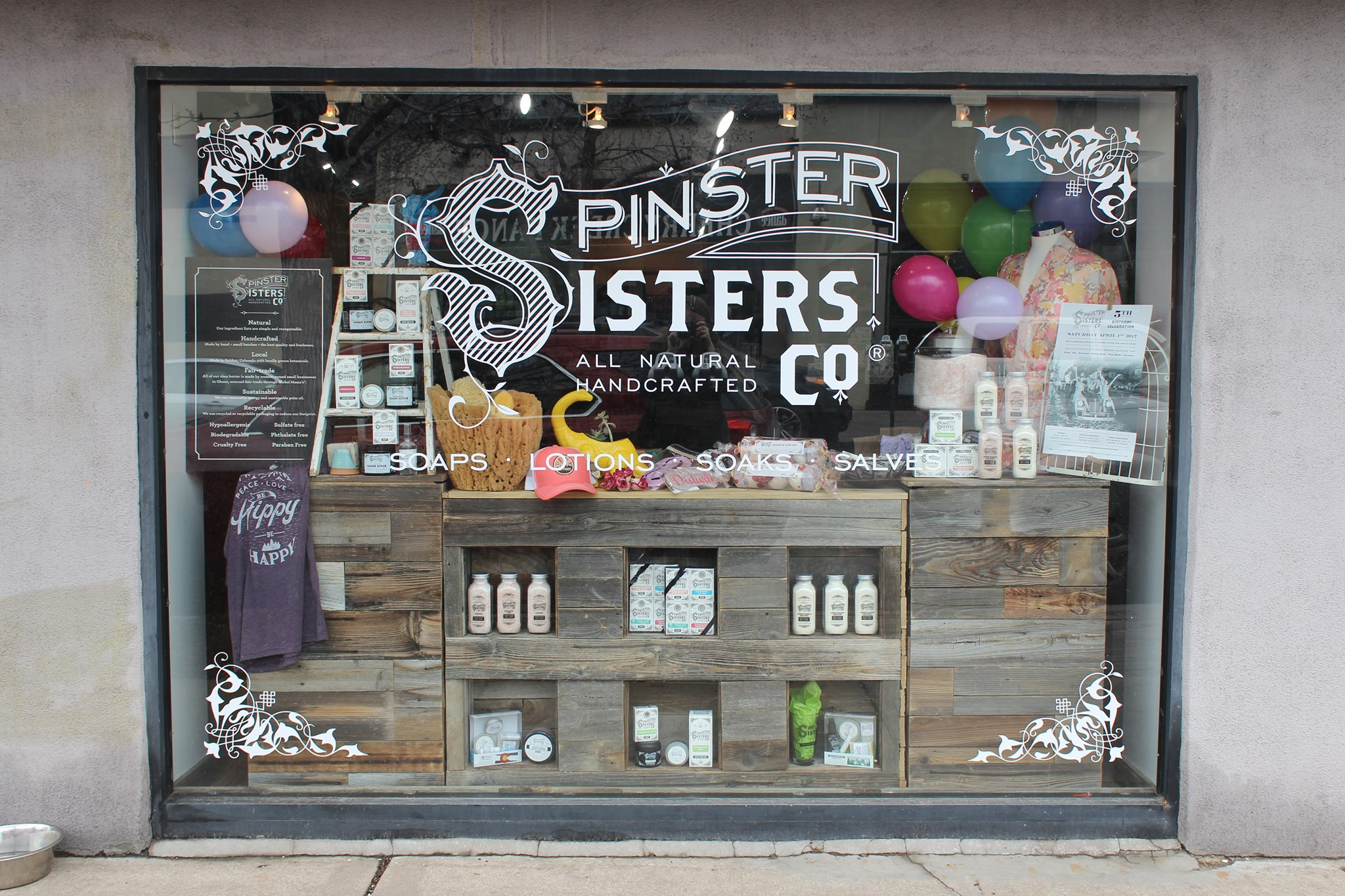Denver Beauty, Spinster Sisters Co, Denver Organic