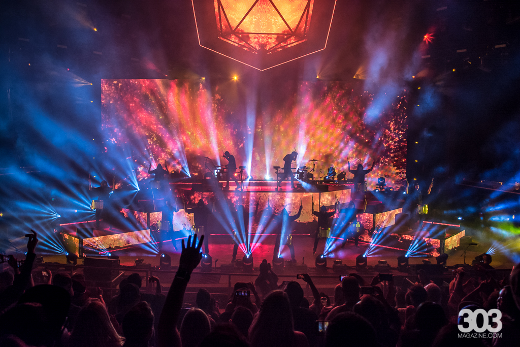kait starr, ryan lewis, odesza, red rocks