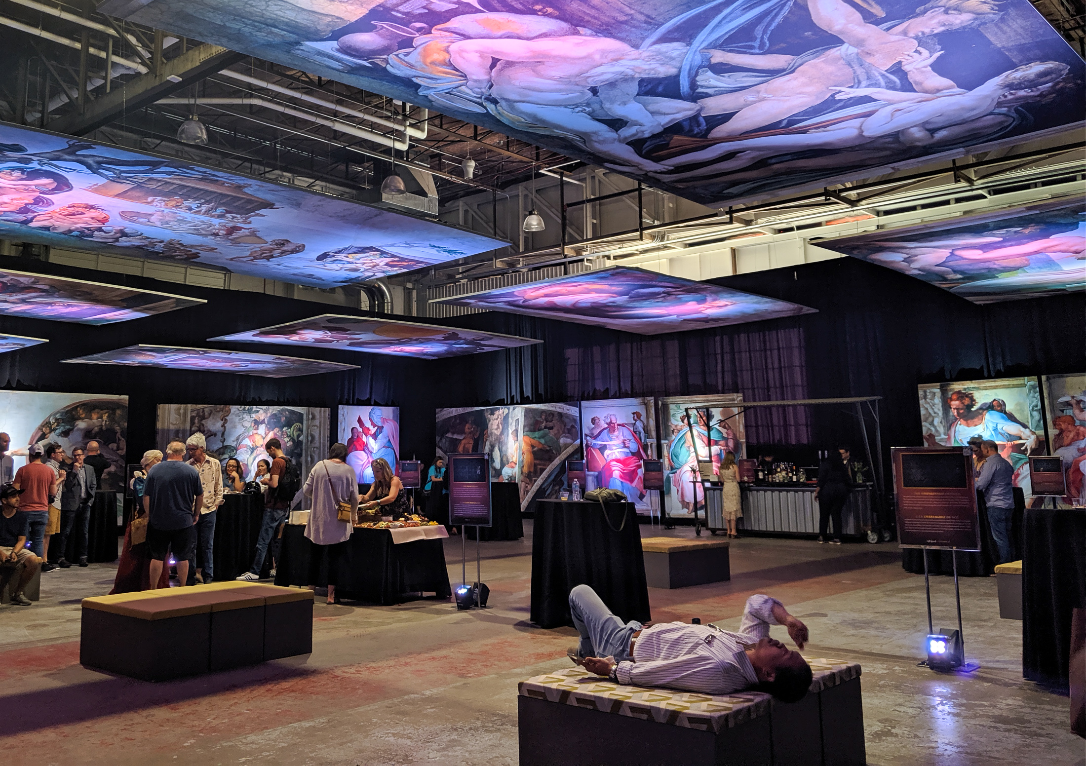 A First Look at the Sistine Chapel Exhibit at The Stanley Marketplace