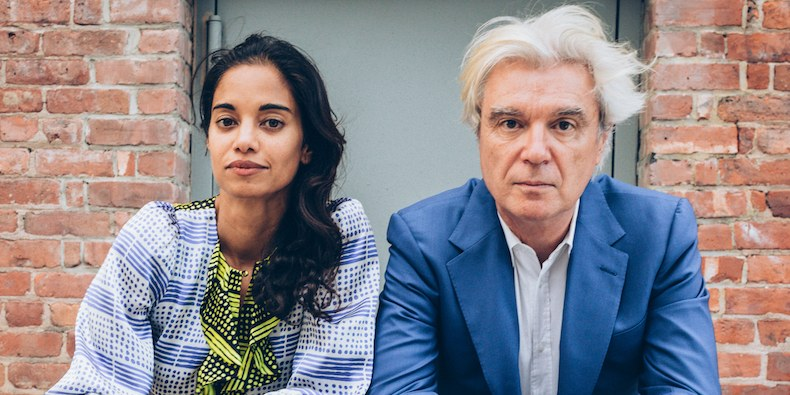 Mala Gaonkar and David Byrne