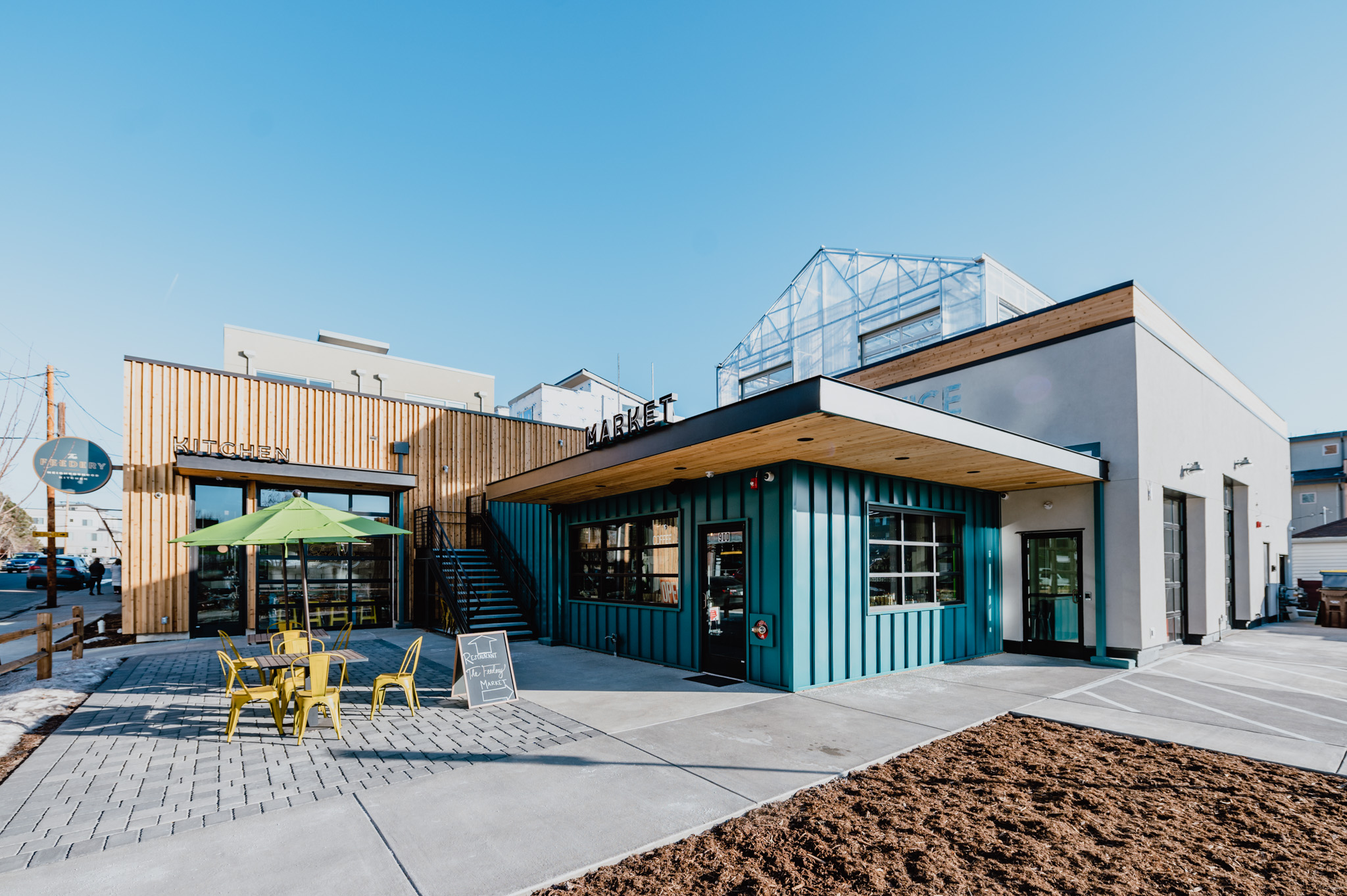Grow + Gather Transforms Former Auto Shop into Locavore Paradise