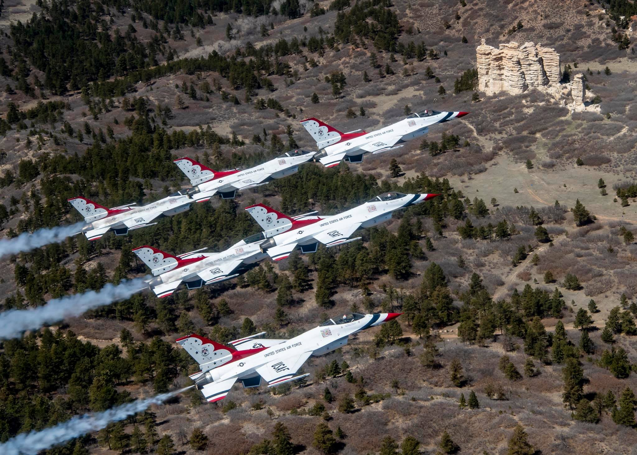 303 Magazine, United States Air Force, USAF, Air Force Thunderbirds, Air Force Academy, Josie Russell, Air Force Flyover, Community Flyover