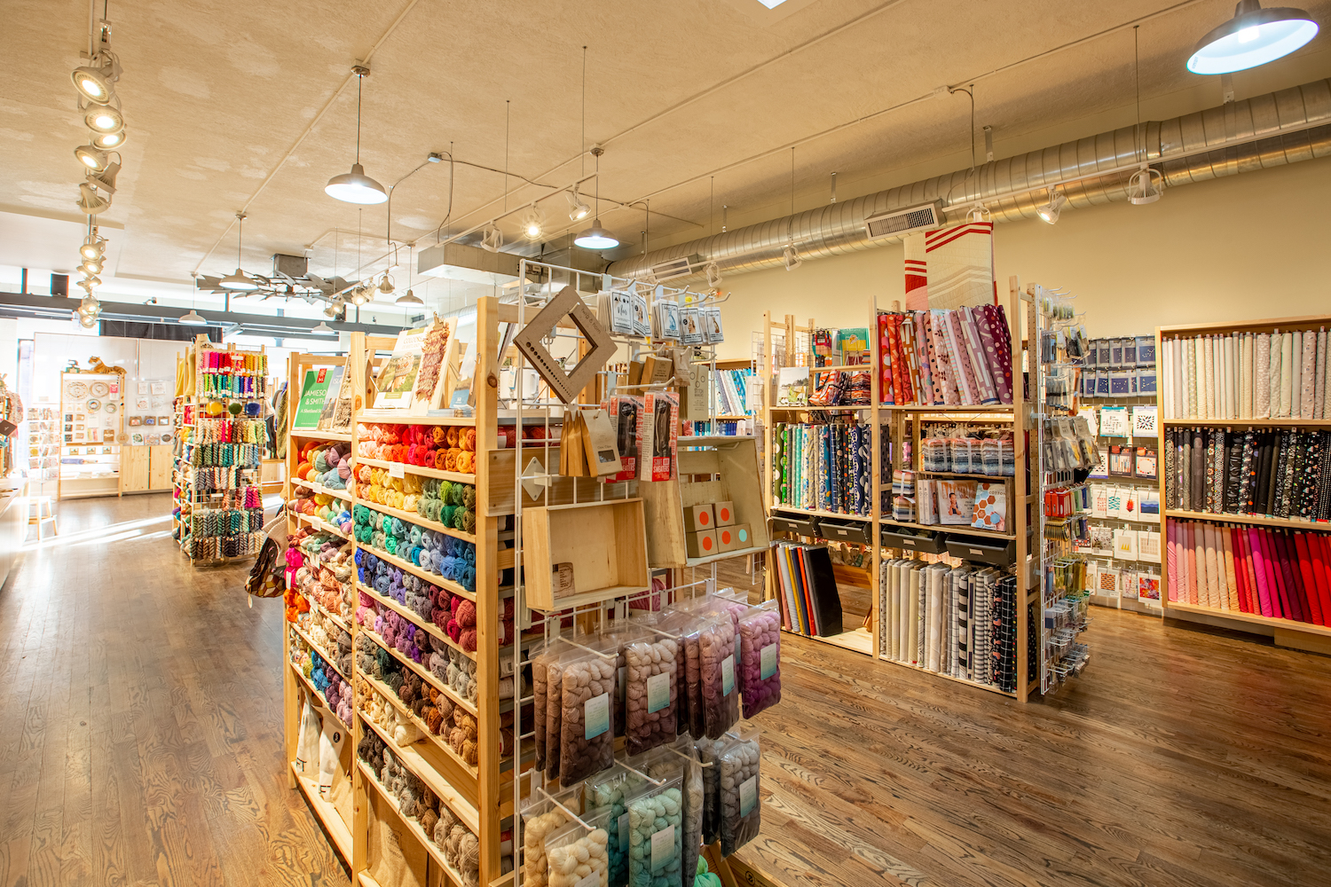 Interior of Fancy Tiger Crafts