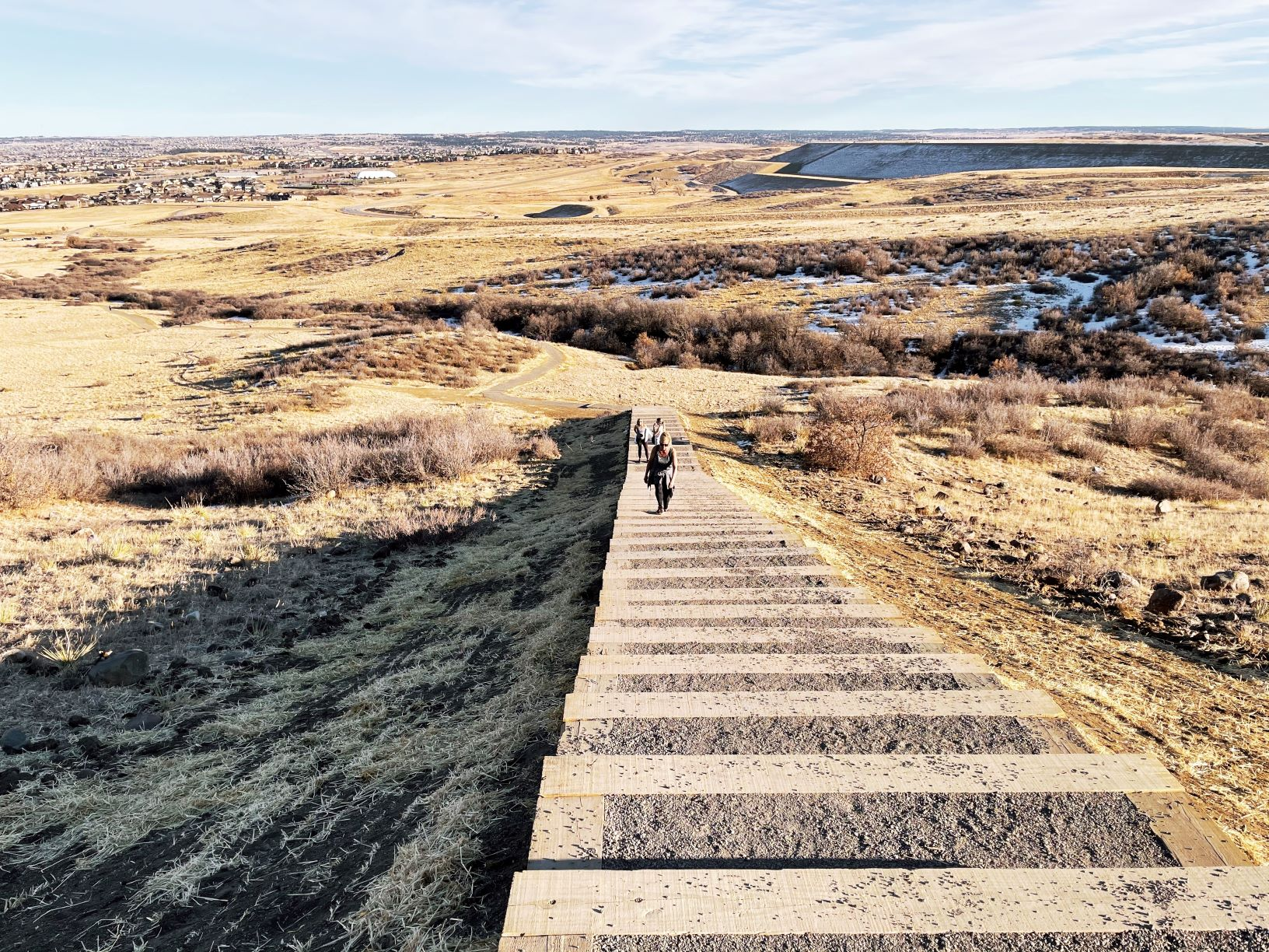 Rueter-Hess Incline, Rueter-Hess Reservoir, Jessica Hughes, Denver metro parks, Parker Colorado, trails near Denver